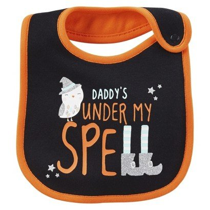 Just One YouTMmade By Carter's® Newborn Daddy's Under My Spell Bib - 1