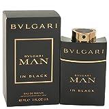 Bvlgari Man In Black by Bvlgari Eau De Parfum Spray 2 oz for Men - 100% Authentic (Tamaño: 2 Oz)