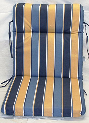 6 Chair Patio Set Cover: (6) Reversible Outdoor Patio Chair Cushions