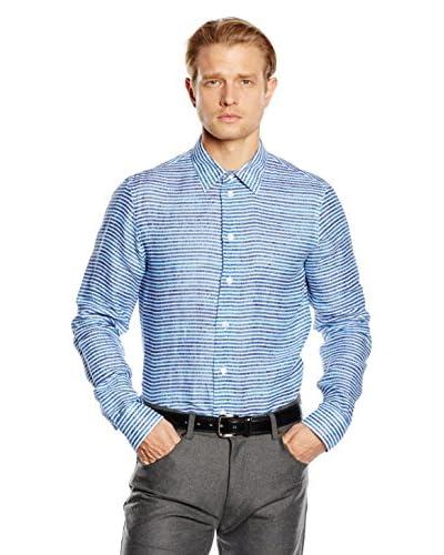 ARMANI COLLEZIONI Camicia Uomo [Multicolore]