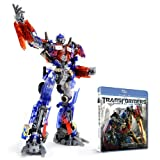 Transformers Dark of the moon [Blu-ray + DVD] with Optimus Prime Dual Model Kit - Scanning Clear Crystal ver. Amazon Japan Exclusive