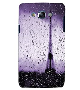 PrintDhaba Wet Tower D-2816 Back Case Cover for SAMSUNG GALAXY J5 (Multi-Coloured)