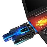 PRATIK--Khler-fr-Laptop-Effizient-und-leise--Effektive-Ableitung-warmer-Luft-fr-abkhlen-Ihres-Laptops-von-14-bis-17-Zoll--Neue-Generation-2016-Geruscharm-am-Ausgang-des-Khlers