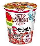 日清食品 カップヌードルライトプラス トマトそうめん 64g×12個 ランキングお取り寄せ