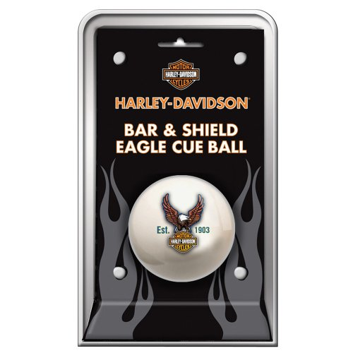 Buy Bargain Harley-Davidson® Bar & Shield Eagle Cue Ball
