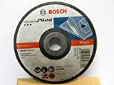 "AG4 CUTTING DISC - 4"" - 105 X 1.2 X 16 MM - CUT OFF WHEEL - BOSCH - PACK 0F 10 PCS"