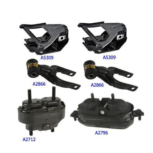 2000-2005 Chevrolet Impala 3.8L Engine Motor & Trans. Mount Set 6PCS free shipping new dmx240 dmx controller stage lighting dj equipment dmx console for led par moving head spotlights dj controller