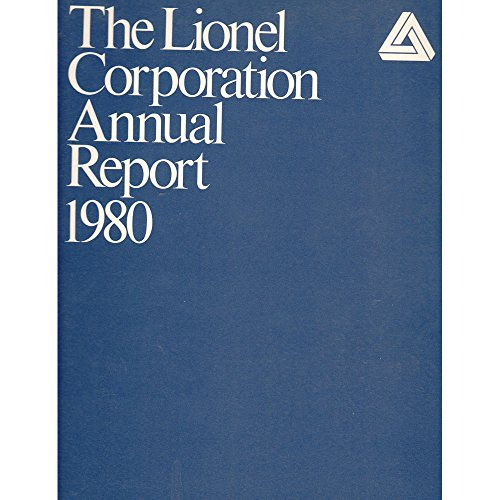 Lionel Corporation 1980 Annual Report