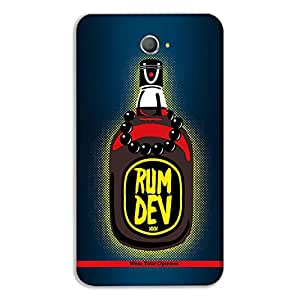 """Wear Your Opinion Graphic Print Mobile Back Cover Case / Phone Cover """"RUMDEV"""" For Sony E4"""