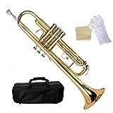 Tangkula Bb Beginner Trumpet Gold