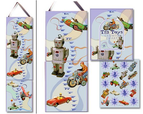 Dolce Mia Tin Toys Growth Chart - 1