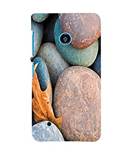 Fuson 3D Printed Coloured Stones Designer Back Case Cover for Nokia Lumia 530 - D1040