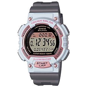 [カシオ]CASIO 腕時計 SPORTS GEAR ラップメモリー120本 ソーラーモデル 10気圧防水仕様 レディス STL-S300H-4AJF レディース