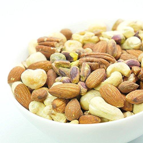 厳選 5種の ミックスナッツ 無添加 無塩 お徳用 500g 素焼き ナッツ