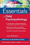 Essentials of Child Psychopathology