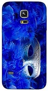 Timpax protective Armor Hard Bumper Back Case Cover. Multicolor printed on 3 Dimensional case with latest & finest graphic design art. Compatible with Samsung Galaxy S-5-Mini Design No : TDZ-27285