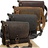 Visconti Leather Messenger Bag / Briefcase for the Office - 18797