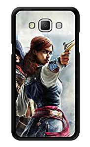 """Humor Gang Girl With Gun - Game Life Printed Designer Mobile Back Cover For """"Samsung Galaxy j5"""" (2D, Glossy, Premium Quality, Protective Snap On Slim Hard Phone Case, Multi Color)"""