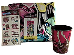 Monster High Towel Tattoos Cup