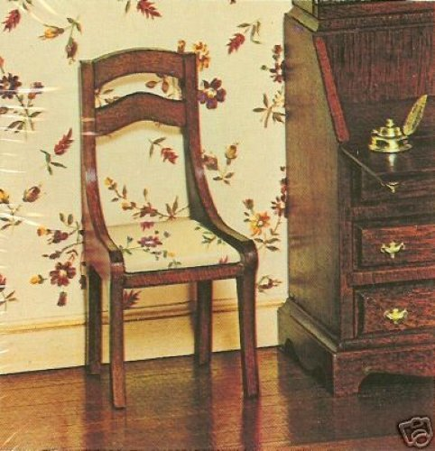 The House Of Miniatures - Side Chair / Set Of 2 / Circa Early 1800's - Doll House Furniture #40007 - 1