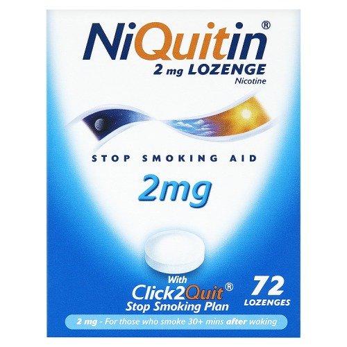 Niquitin Lozenges 2mg Original - 72 Lozenges