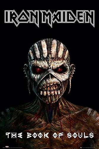 GB eye, Iron Maiden, The Book of Souls, Maxi Poster, 61x91.5cm