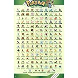 Image of Pokemon Characters Sinnoh Region 11X17 New Poster 1379E