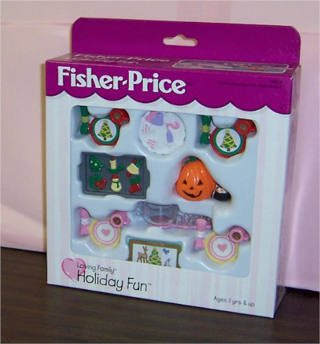 Fisher-price Loving Family Dollhouse Holiday Fun Set