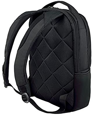 "Wenger 600634 SURGE 16"" Laptop Backpack , Padded laptop compartment with iPad/Tablet / eReader Pocket in Black 21 Litres from Wenger"