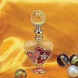 Artico SS-A-51626 Heart Crystal Jewel Fragrance Perfume Bottle