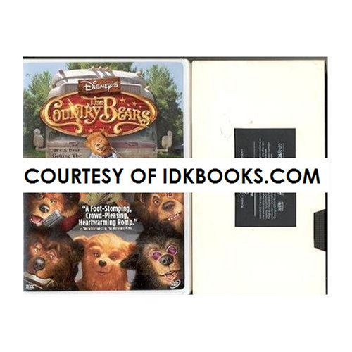 DVD - Disney's The Country Bears *PLUS FREE VHS: Reader's Digest Young Families: Growing Up Wild Fuzzy Wuzzy Bears *SHIPS SAME DAY WITH FREE TRACKING* (Country Bears Vhs compare prices)