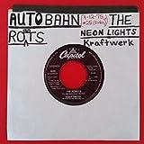 KRAFTWERK Robots b/w Neon Lights 45 rpm 7