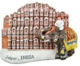 Hawa Mahal Jaipur Pink City INDIA 3D Thai Magnet Hand Made Craft