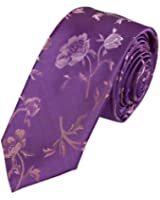 EAE1B07 Various of Colors Silk Mens Skinny Tie Beautiful Goods for Dad By Epoint