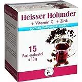 HEISSER Holunder+Vit.C+Zink Pulver 15X10 g