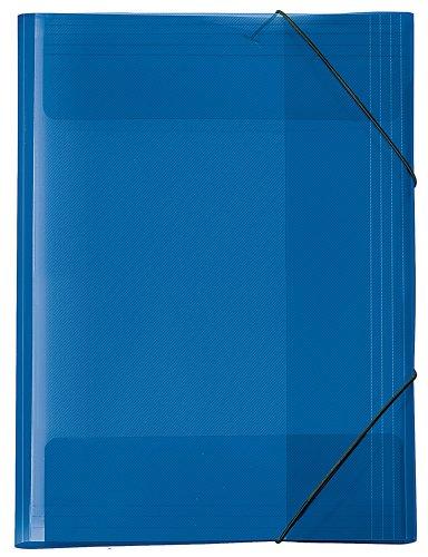 Carpeta archivadora A3 , color  azul transparente