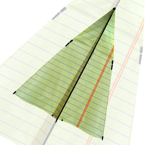 Cellular Kite Paper Airplane