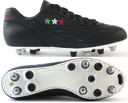SCARPE CALCIO NEW STAR COMBI VITELLO IT 41