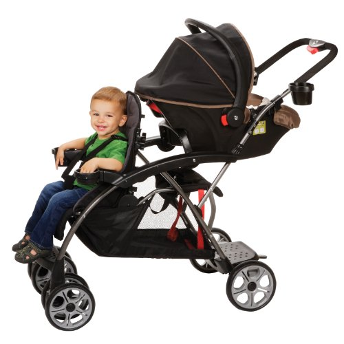 Safety 1St Stand On Board, Classic Black front-933203