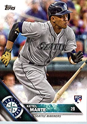 2016 Topps #73 Ketel Marte Seattle Mariners Baseball Rookie Card-MINT