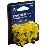 Fantasy Flight Supply: Wood Tokens: Yellow