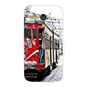 Delighted Kolkatta Multvcolore Back Case Cover for Moto G