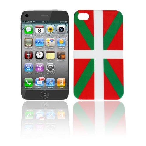 Coque-pour-Iphone-4-4S-Drapeau-Pays-Basque-Faade-drapeau-basque-AZ-FLAG
