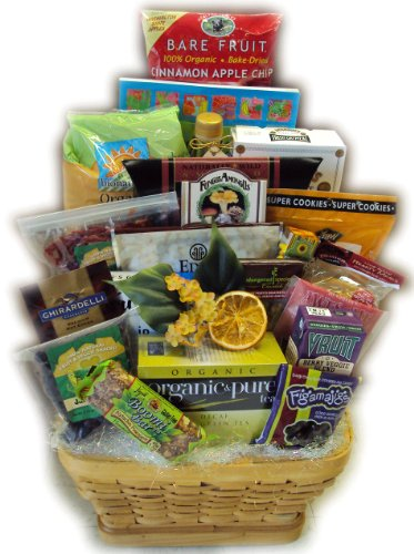 Super Deluxe Heart-Healthy Birthday Gift Basket