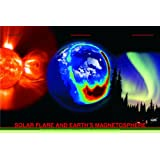 Solar Flare & Earth's Magnetosphere Poster