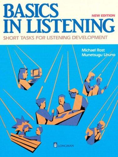 Basics in Listening: Short Tasks for Listening Development