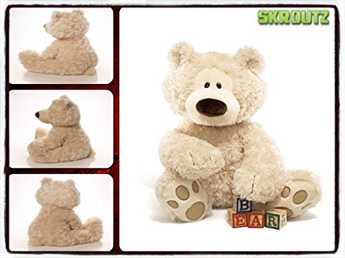 Teddy Bear Plush Toy Stuffed Soft Animal White New Lovely Baby Kid Doll Fashion 3d 18 Inches Huggable Beige - It Comes Among with Our Unique Ebook
