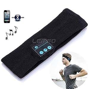 Stereo Magic Music Headband Sport Bluetooth Wireless Headset W/ Phone Call Answer Handsfree for iPhone Samsung Headgear Earphone