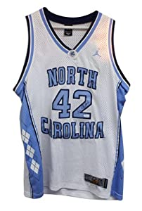 Jerry Stackhouse Autographed Jersey - North Carolina Tar Heels White Nike - Sports... by Sports+Memorabilia