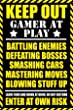 Gaming Keep Out (Adult) - Maxi Poster - 61 cm x 91.5 cm